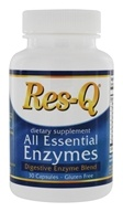 All Essential Enzymes Digestive Blend - 30 Capsules by Res-Q