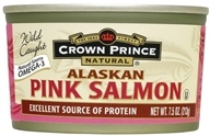 Crown Prince Natural - Alaskan Pink Salmon - 7.5 oz., from category: Health Foods