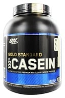 Image of Optimum Nutrition - 100% Casein Gold Standard Creamy Vanilla - 4 lbs.