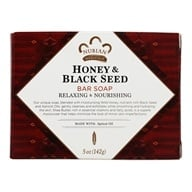 Image of Nubian Heritage - Bar Soap Honey & Black Seed - 5 oz.