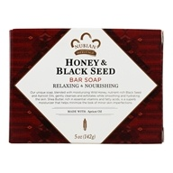 Nubian Heritage - Bar Soap Honey & Black Seed - 5 oz. (764302119005)