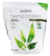 Nutiva - Organic Hemp Protein Hi Fiber - 3 lbs., from category: Health Foods