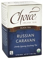 Choice Organic Teas - Black Tea Russian Caravan - 16 Tea Bags (formerly Smoked Pine)