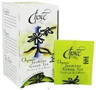 Image of Choice Organic Teas - Gourmet Jasmine Green Tea - 20 Tea Bags