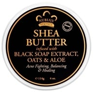 Image of Nubian Heritage - Shea Butter Infused With Black Soap Extract, Oats & Aloe - 4 oz.
