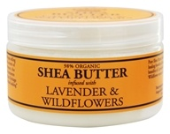 Image of Nubian Heritage - Shea Butter Infused With Lavender & Wildflowers - 4 oz.