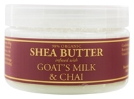 Nubian Heritage - Shea Butter Infused With Goat's Milk & Chai - 4 oz. by Nubian Heritage