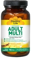 Country Life - Chewable Adult Multi - 120 Wafers, from category: Vitamins & Minerals