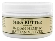 Image of Nubian Heritage - Shea Butter Infused With Indian Hemp & Haitian Vetiver - 4 oz.