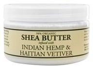 Nubian Heritage - Shea Butter Infused With Indian Hemp & Haitian Vetiver - 4 oz. by Nubian Heritage