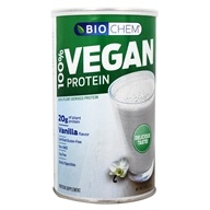 Biochem by Country Life - 100% Vegan Protein Powder Vanilla - 15.3 oz.