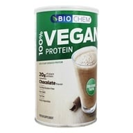 Biochem by Country Life - 100% Vegan Protein Powder Chocolate - 16.2 oz. (015794017998)
