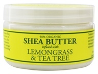 Nubian Heritage - Shea Butter Infused With Lemongrass & Tea Tree - 4 oz. (764302102144)