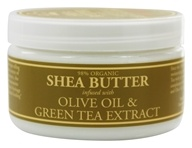 Nubian Heritage - Shea Butter Infused With Olive Oil & Green Tea Extract - 4 oz. (764302103387)