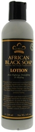 Image of Nubian Heritage - Lotion African Black Soap - 8 oz.