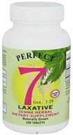 Agape Health Products - Perfect 7 Laxative Senna Herbal Supplement - 200 Tablets (096231702004)