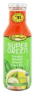 Image of Cell Nique - Super Green Drink Citrus Vanilla - 12 oz.