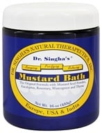 Dr. Singha's Natural Therapeutics - Mustard Bath - 16 oz., from category: Personal Care