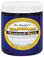 Dr. Singha's Natural Therapeutics - Mustard Bath - 16 oz. by Dr. Singha's Natural Therapeutics
