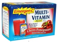 Image of Alacer - Emergen-C Multi-Vitamin Plus Cherry-Pomegranate 500 mg. - 30 Packet(s)