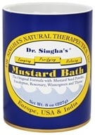 Dr. Singha's Natural Therapeutics - Mustard Bath - 8 oz. by Dr. Singha's Natural Therapeutics