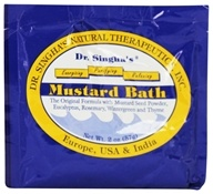 Dr. Singha's Natural Therapeutics - Mustard Bath - 2 oz. by Dr. Singha's Natural Therapeutics