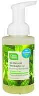 CleanWell - Natural Antibacterial Foaming Hand Wash Spearmint & Lime - 9.5 oz. by CleanWell