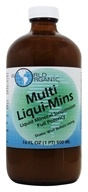 World Organic - Multi Liqui Mins Liquid Mineral Suspension - 16 oz.