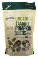 Woodstock Farms - Organic Tamari Pumpkin Seeds - 9 oz. - $7.22