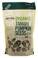 Image of Woodstock Farms - Organic Tamari Pumpkin Seeds - 9 oz.