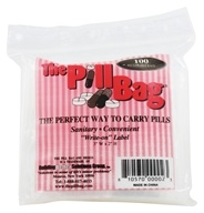 The Pill Bag - The Pill Bag Sanitary Reclosable Bag - 100 Bags - $3.71