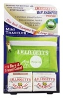 JR Liggett's - Old-Fashioned Shampoo Mini Traveler - 4 Bars (049056001043)