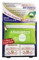 JR Liggett's - Old-Fashioned Shampoo Mini Traveler - 4 Bars by JR Liggett's