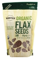 Woodstock Farms - Organic Flax Seeds - 14 oz.