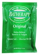 Queen Helene - Batherapy Natural Mineral Bath Salt Original - 1.5 oz. - $0.80