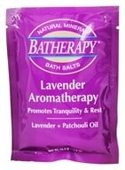 Queen Helene - Batherapy Natural Mineral Bath Salt Lavender - 1.5 oz. (079896221653)