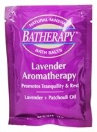 Queen Helene - Batherapy Natural Mineral Bath Salt Lavender - 1.5 oz.