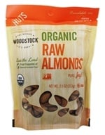 Image of Woodstock Farms - Organic Almonds - 8 oz.