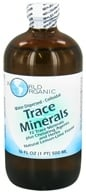 World Organic - Trace Minerals Water Dispersed Colloidal Lemon-Lime - 16 oz.