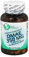 World Organic - DMAE 350 mg. - 90 Capsules