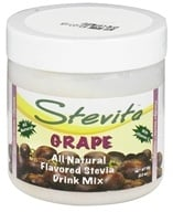 Stevita - Stevia All Natural Drink Mix Spring Grape Flavored - 2.8 oz. by Stevita