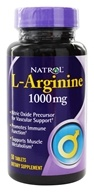 Image of Natrol - L-Arginine 1000 mg. - 50 Tablets