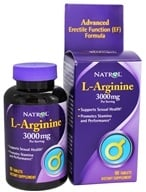 Image of Natrol - L-Arginine 3000 mg. - 90 Tablets