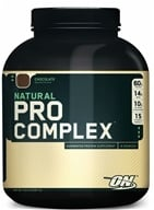 Image of Optimum Nutrition - Natural Pro Complex Chocolate - 4.6 lbs.