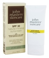 Image of John Masters Organics - Natural Mineral Sunscreen 30 SPF - 2 oz.