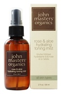 John Masters Organics - Hydrating Toning Mist Rose and Aloe - 2 oz. (669558600041)