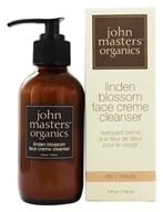 John Masters Organics - Face Cream Cleanser Linden Blossom - 4 oz., from category: Personal Care