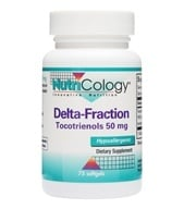Nutricology - Delta-Fraction Tocotrienols 50 mg. - 75 Softgels - $15.44