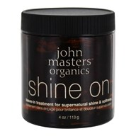 John Masters Organics - Shine On Leave-In Treatment For Supernatural Shine & Softness - 4 oz. (669558500259)