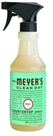 Image of Mrs. Meyer's - Clean Day Countertop Spray Basil - 16 oz.